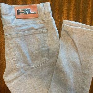 Ralph Lauren 380 Black Label Gray Jeans 27